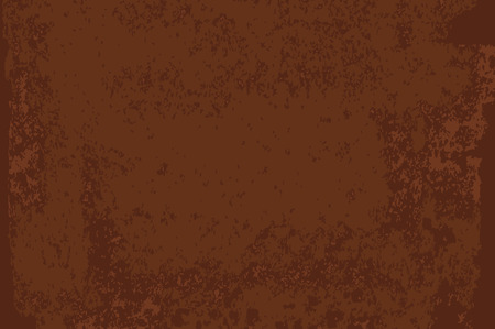 Rust textured surface. Old grunge rustic metal texture use for background. Vector illustration.