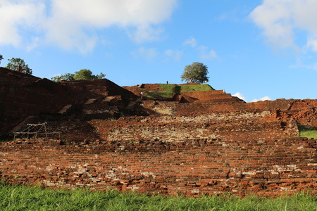 Summit ruins  Sigiriya, Sri Lanka  photo