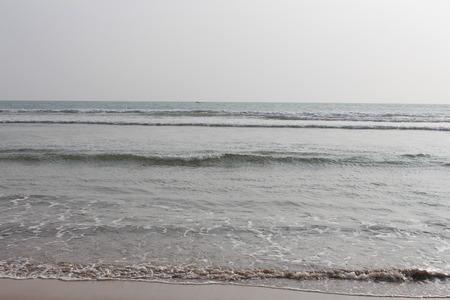dullness: Cold ocean coast
