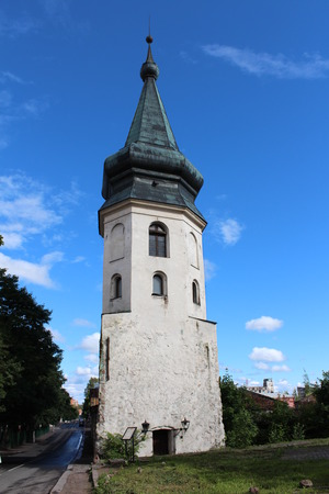 15th century: Town Hall Tower in Vyborg, 15th century.
