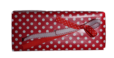 dolly bag: Beautifully packaged gift box. Stock Photo