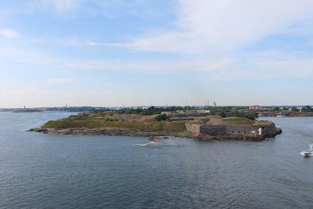 fortifying: Suomenlinna, until 1918 Viapori (Finnish), or Sveaborg (Swedish).