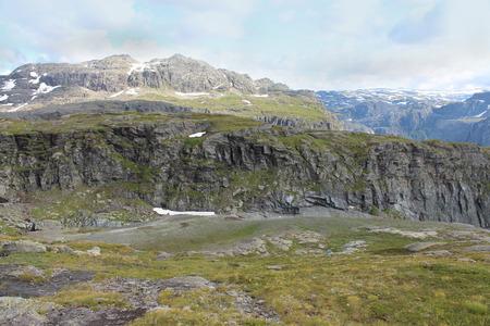 eminence: Mountains landscape. Norway. Stock Photo