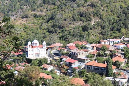 settlement: The mountain settlement, Troodos Mountains, Cyprus. Stock Photo