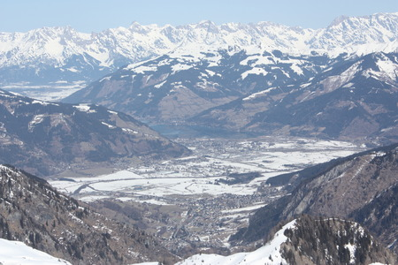 kaprun: Landscape from the Kaprun skiing resort.
