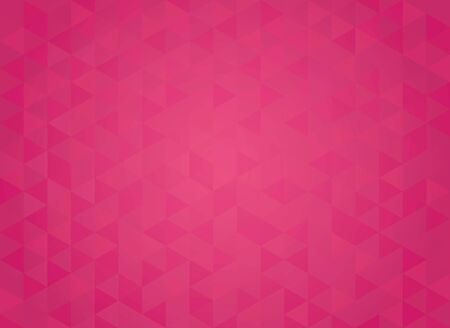 Abstract geometric red background. Hipster triangular mosaic backrop