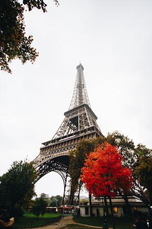 PARIS, FRANCE OCTOBER 2016: The Eiffel Tower.