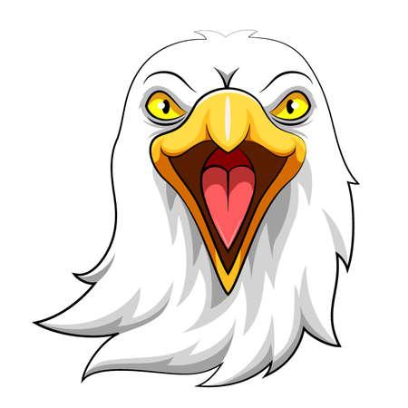 Eagle Head Mascot of Illustration