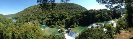 Kirka national park in beautiful Croatia