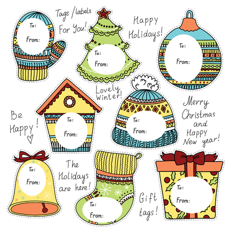 christmas gifts: Christmas tags for gifts