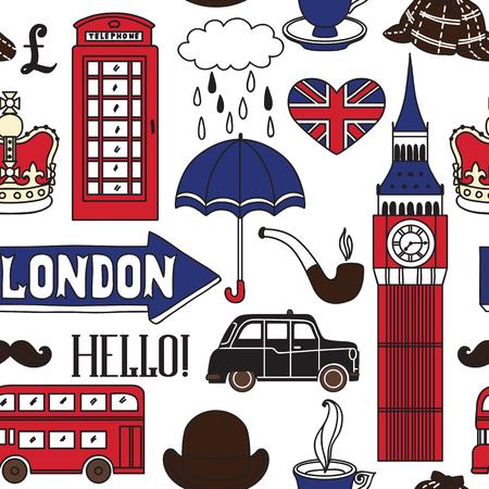 London icons. Vector illustration