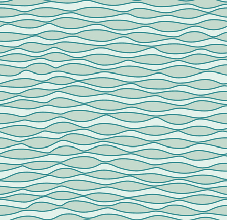 water waves: Vector seamless abstract waves pattern