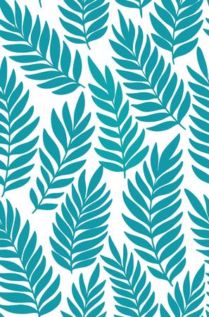 rainforest background: Exotic leaves, rainforest. Seamless, pattern. background.
