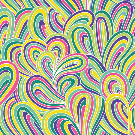 Abstract pattern. Colorful bright illustration with waves