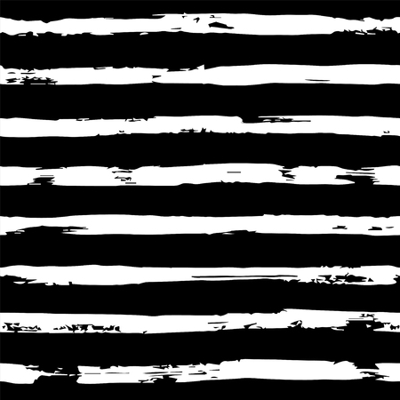 Striped seamless hand drawn pattern Banque d'images - 121699415
