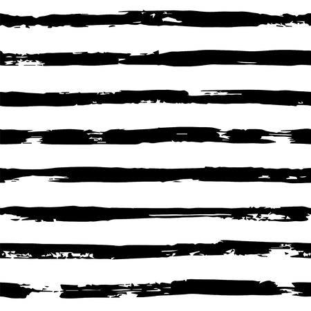 Striped seamless hand drawn pattern Banque d'images - 121699420