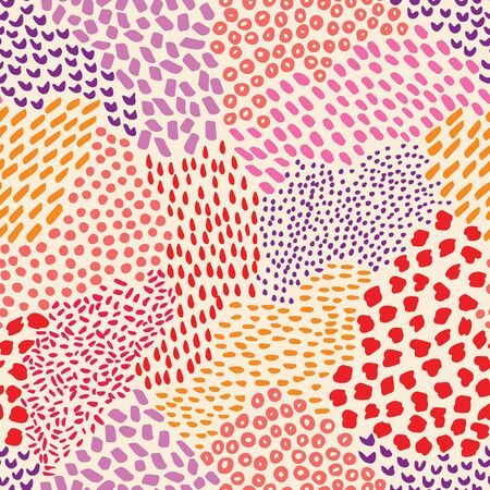 Vector seamless organic dots biological pattern. Abstract background