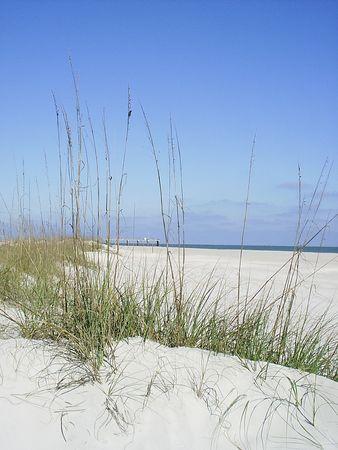 December beach