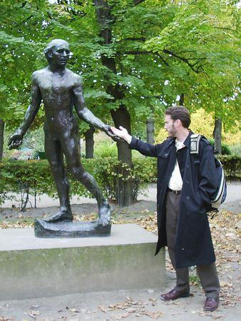 Rodin Museum Stock Photo