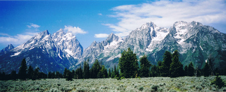 Grand Tetons Stock Photo - 1416386