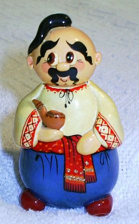 cossack: Ukrainian figurine - cossack Stock Photo