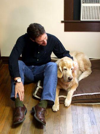 tucker: Tucker and friend Stock Photo