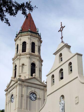 Cathédrale Saint-Augustin Banque d'images - 2292596