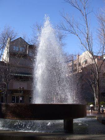 Fountain in the wind Reklamní fotografie