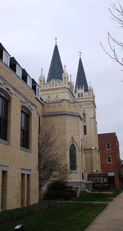 Première église baptiste de Shelby, NC Banque d'images - 2377788
