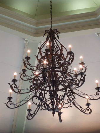 chandelier: Old-fashioned chandelier