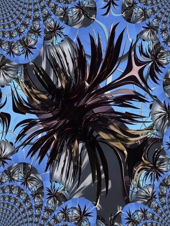 Palm boom - fractale