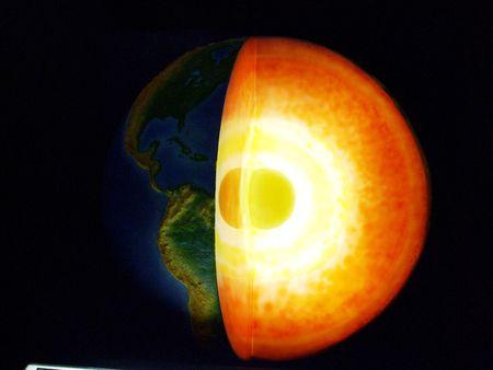 Model van de aarde Stockfoto