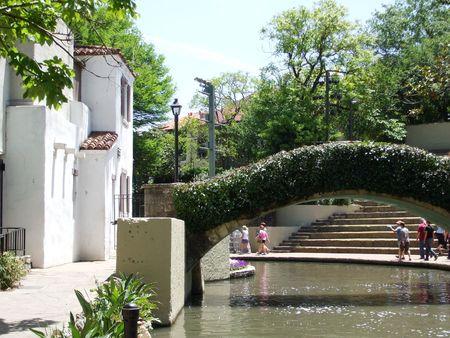 Riverwalk in San Antonio, TX