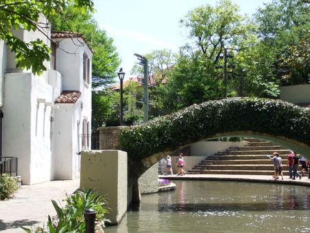 Riverwalk in San Antonio, TX