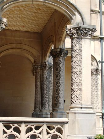 Ornate columns