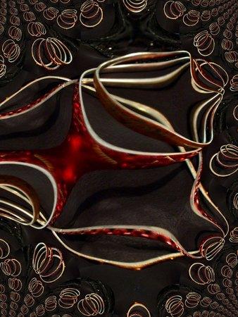 Bangle bracelets - fractal