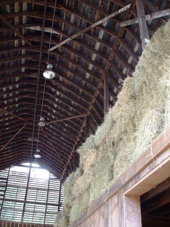 Barn - hay loft