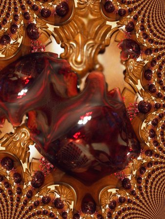 Ruby glas - fractal