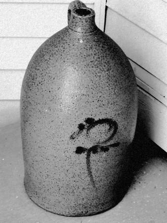 石工の jar ファイル - 鉛筆スケッチ図