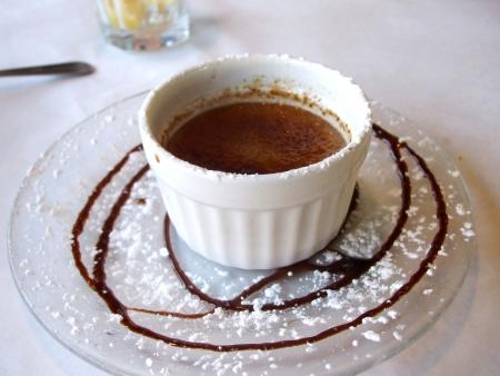 crème: Cioccolato Cr�me Br�l�e  Archivio Fotografico