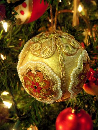 Victorian Christmas ornament Stock Photo - 4032146