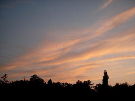 Sunset clouds 版權商用圖片