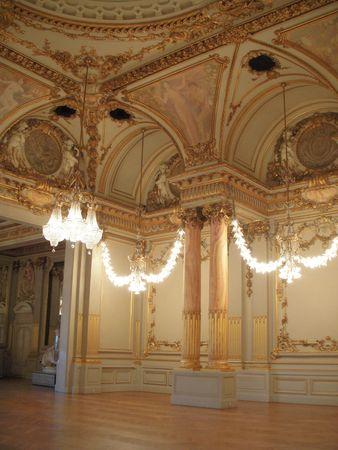 Banquet hall Фото со стока - 6042202
