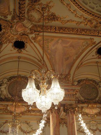Banquet hall Фото со стока - 6042268