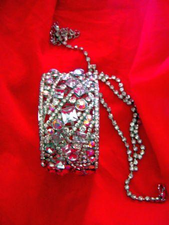 anklet: Rhinestone jewelry