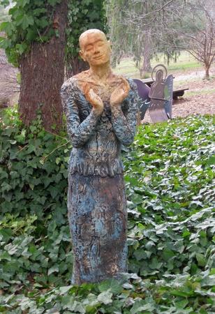 2012 年 2 月 22 日 - Grovewood ギャラリー、アシュビル、ノースカロライナ州での野外彫刻 報道画像