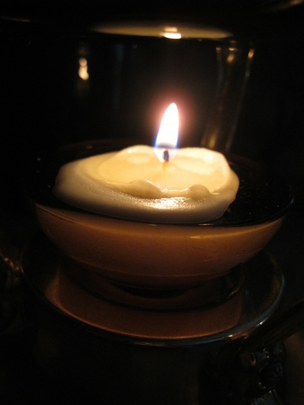 votive: Candle Stock Photo