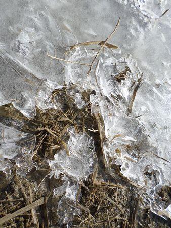 Ice - closeup