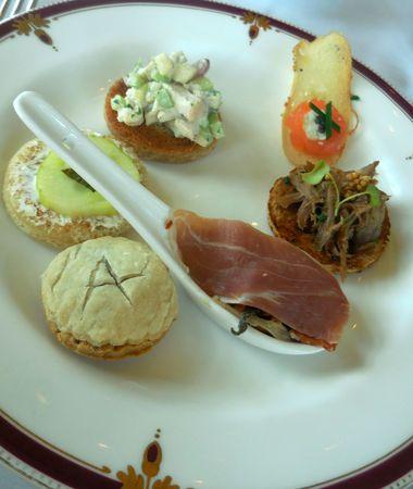 Tea sandwiches Stock Photo