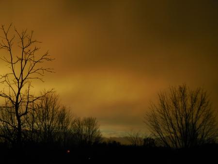 Winter sunrise Stock Photo - 73832282